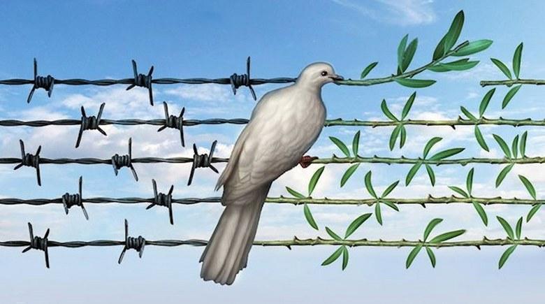 روز جهانی صلح با حذف اختاپوس نظام ولایت