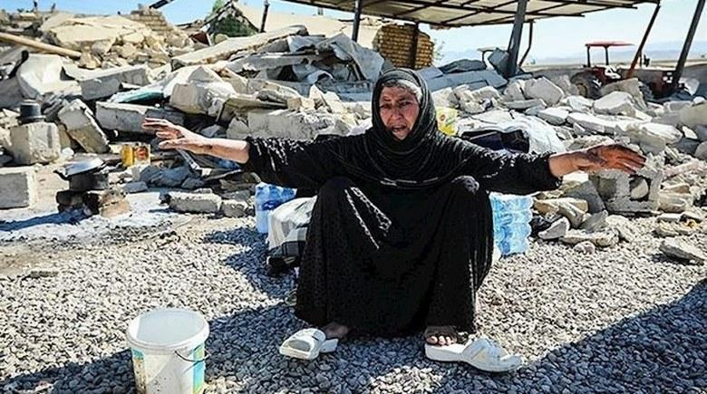 شرایط دردناک بازماندگان زلزله کرمانشاه پس از یکسال