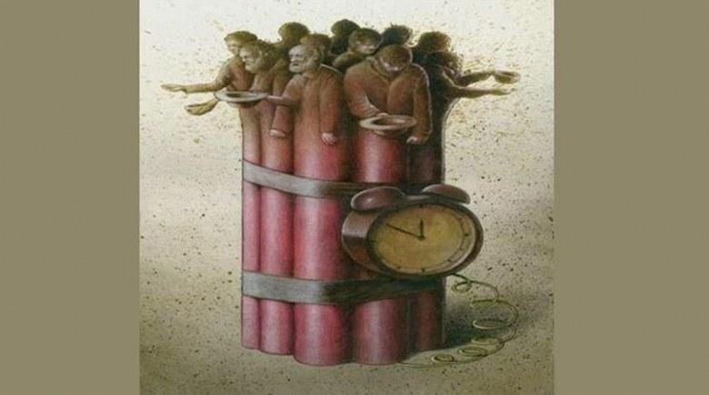 افزایش روزافزون سبد معیشتی و خشم ارتش گرسنگان!