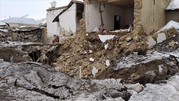 زلزله خوی و سلماس و ویروس پنهانکاری